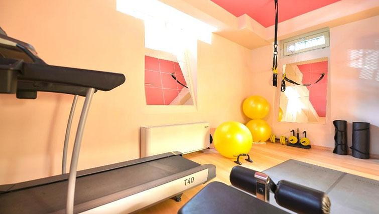 Gym at Villa Massari Manzoni - Citybase Apartments