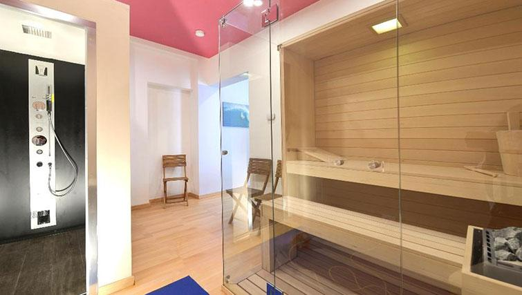 Sauna at Villa Massari Manzoni - Citybase Apartments
