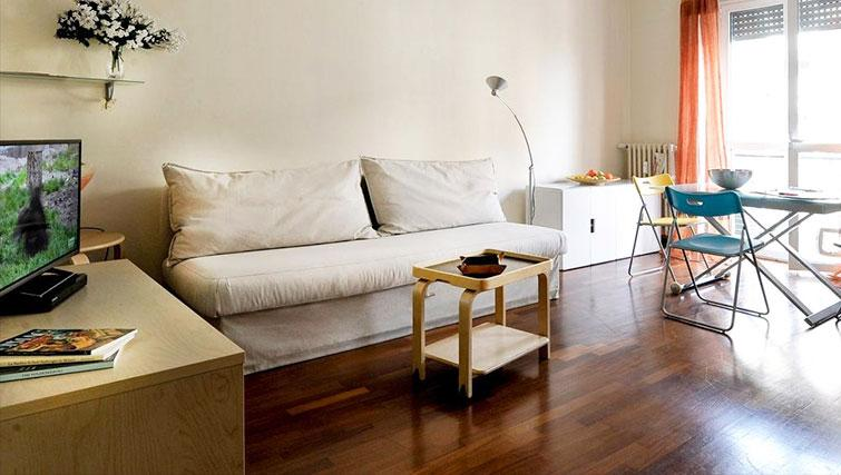 Living room at Eugenio Brizi Apartment - Citybase Apartments