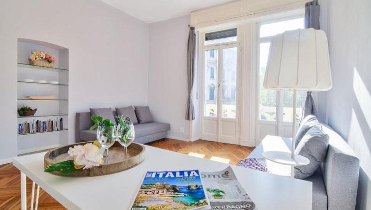 Bright living area at Bacone Liberty Diana - Citybase Apartments