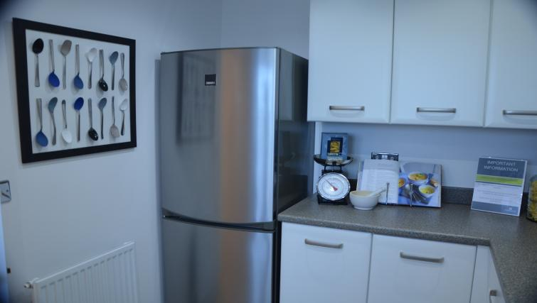Fridge at Birchover Hollygate Apartments - Citybase Apartments