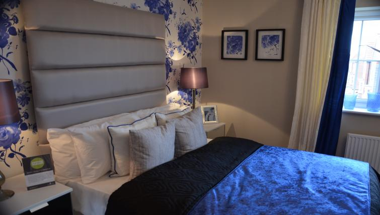 Modern bedroom at Birchover Hollygate Apartments - Citybase Apartments