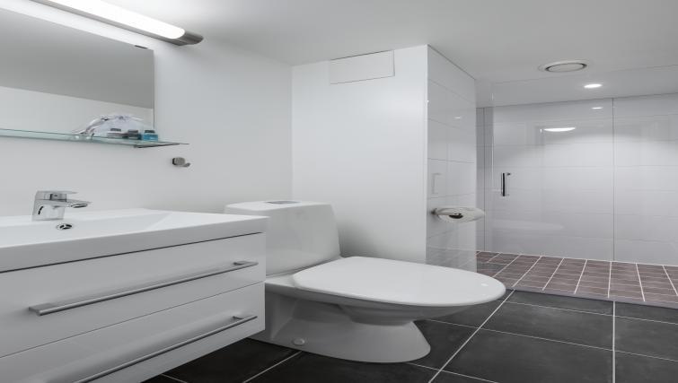 Bathroom at Lagårdsveien 61 Serviced Apartments - Citybase Apartments