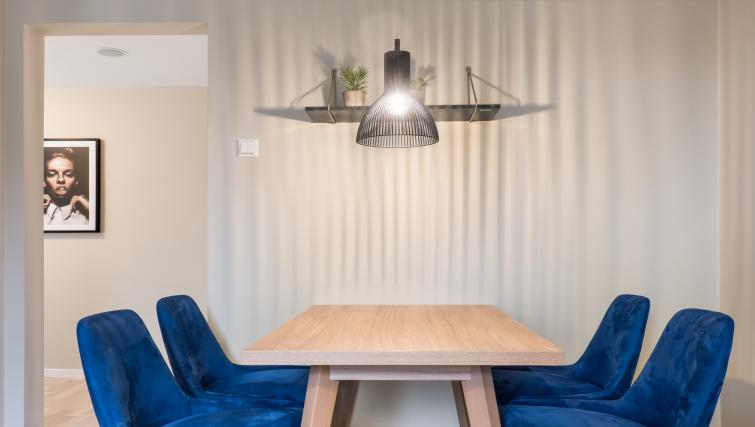 Dining table at Lagårdsveien 61 Serviced Apartments - Citybase Apartments