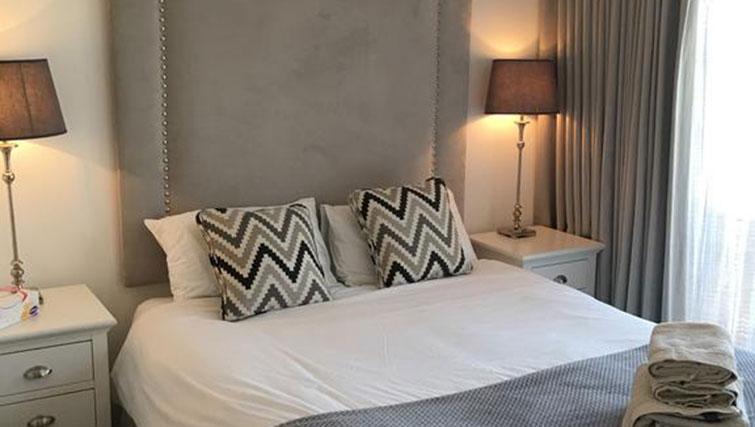Modern bedroom at Wain Close Apartment - Citybase Apartments