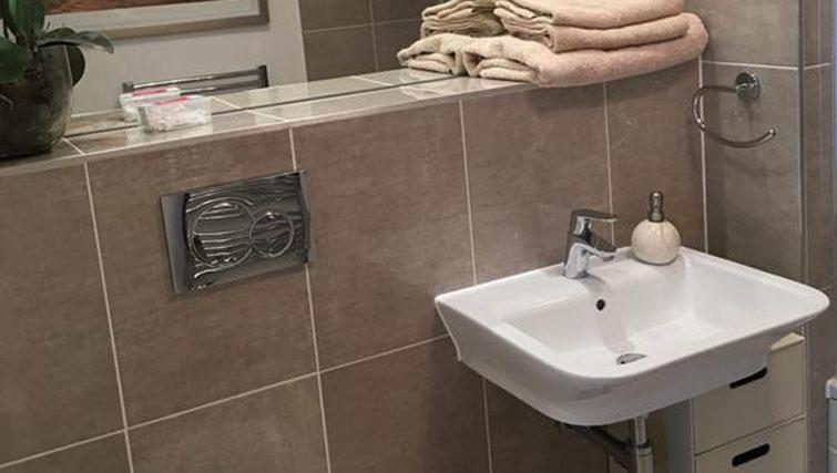 Sink at Wain Close Apartment - Citybase Apartments