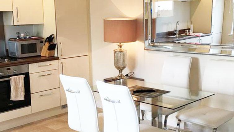 Dining table at Wain Close Apartment - Citybase Apartments