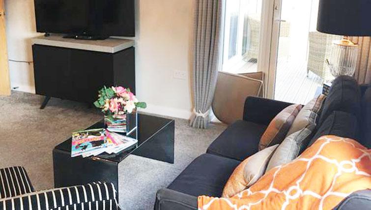 Living room at Wain Close Apartment - Citybase Apartments