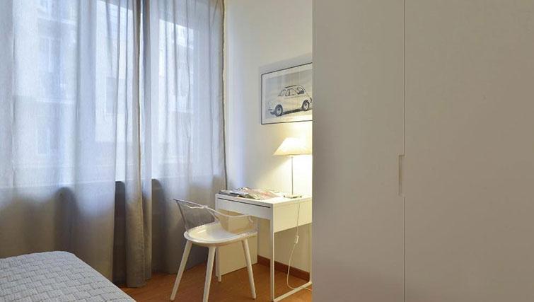 Bedroom facilities at Moscova Apartment - Citybase Apartments