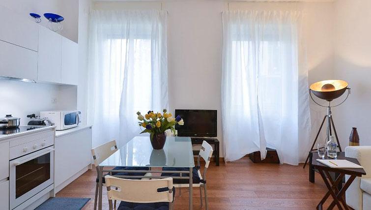 Bright living room at Moscova Apartment - Citybase Apartments