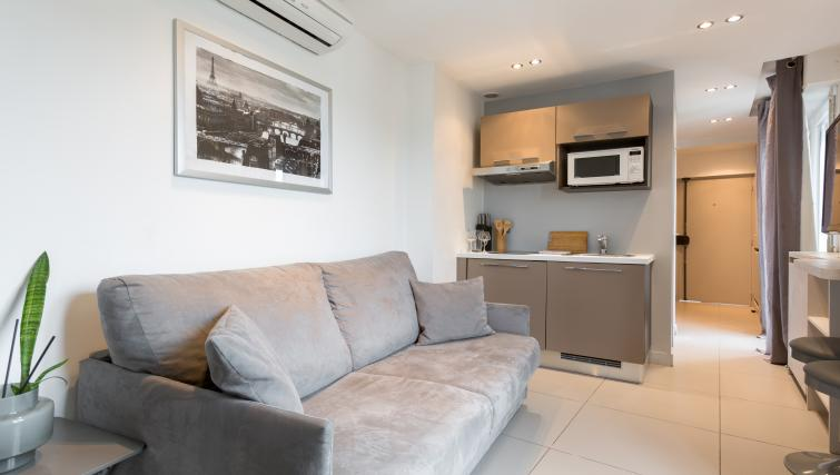 Sofa at Saint Lazare Apartments - Citybase Apartments