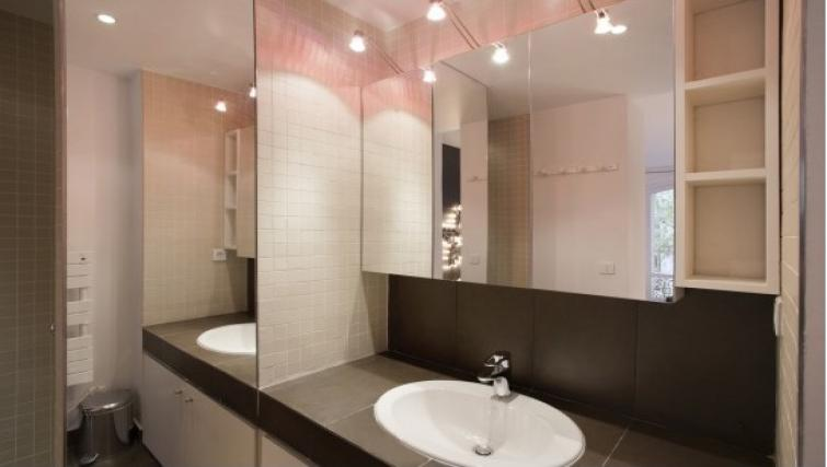 Sink at Drouots Apartments - Citybase Apartments