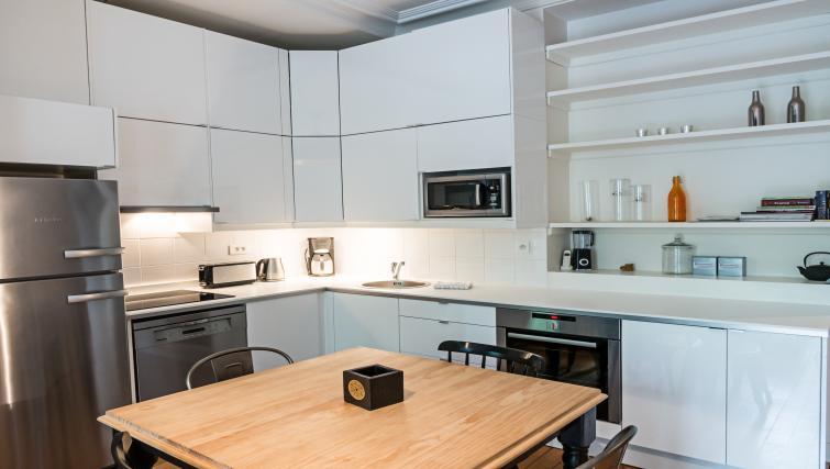 Kitchen at Drouots Apartments - Citybase Apartments