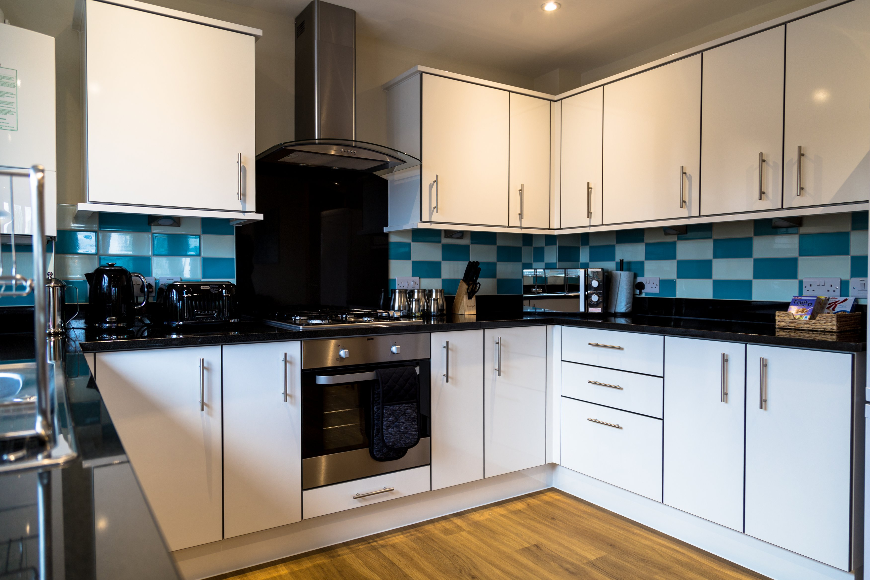 Kitchen at London Heathrow Living Serviced Apartments - Citybase Apartments