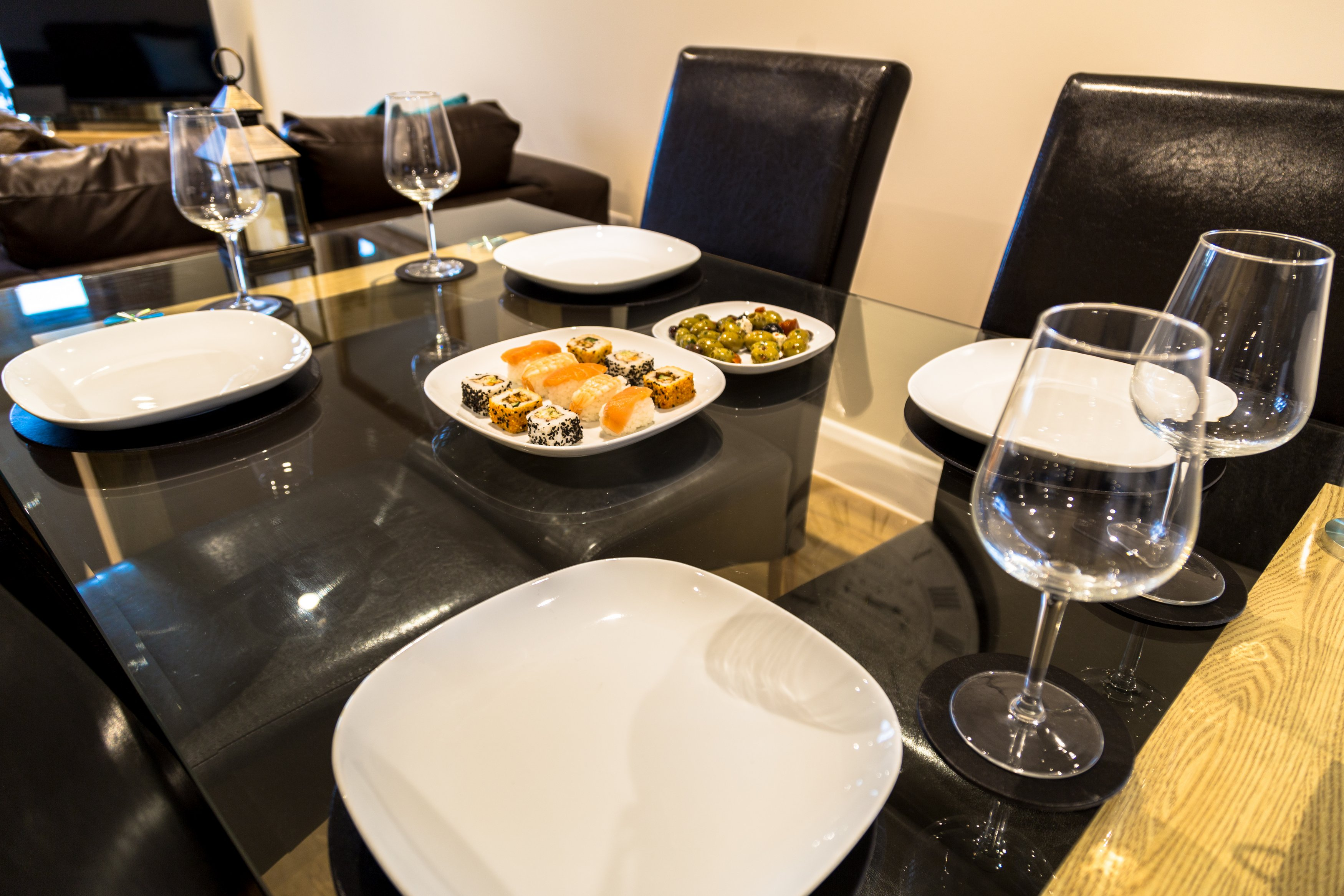 Table at London Heathrow Living Serviced Apartments - Citybase Apartments