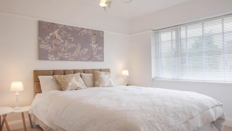 Bright bedroom at Evesham Road Apartment - Citybase Apartments