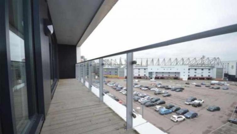 Balcony at Bank Apartment - Citybase Apartments