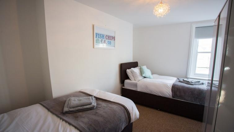 Bright bedroom at North Street Street - Citybase Apartments