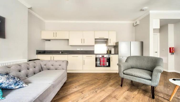 Kitchen at Thistle Street Apartment - Citybase Apartments
