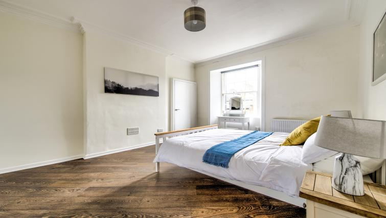Bright bedroom at Thistle Street Apartment - Citybase Apartments