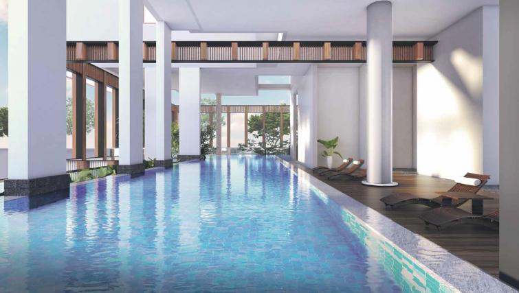 Pool at Ariva On Shan Serviced Residences, Singapore - Citybase Apartments
