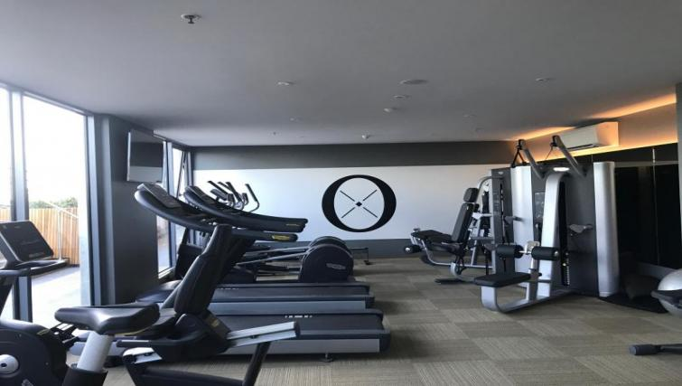 Gym at Quest Flemington Central - Citybase Apartments
