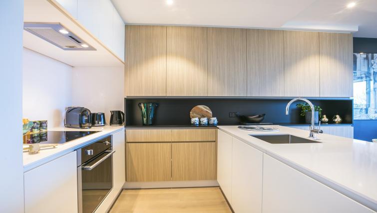 Kitchen at Quest Flemington Central - Citybase Apartments
