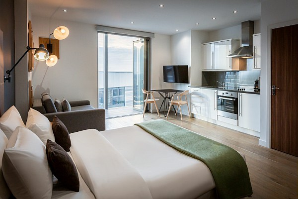 Bedroom at Adagio London Brentford Apartments - Citybase Apartments