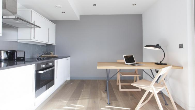 Kitchen at Adagio London Brentford Apartments - Citybase Apartments