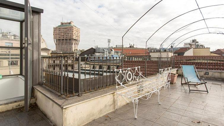 Rooftop at Fieno Apartment - Citybase Apartments