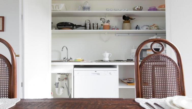 Kitchen at Fieno Apartment - Citybase Apartments