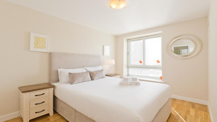 Bedroom at Iveagh Court Apartments - Citybase Apartments