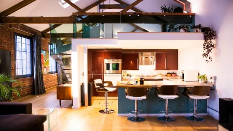Kitchen at Paintworks Apartments - Citybase Apartments