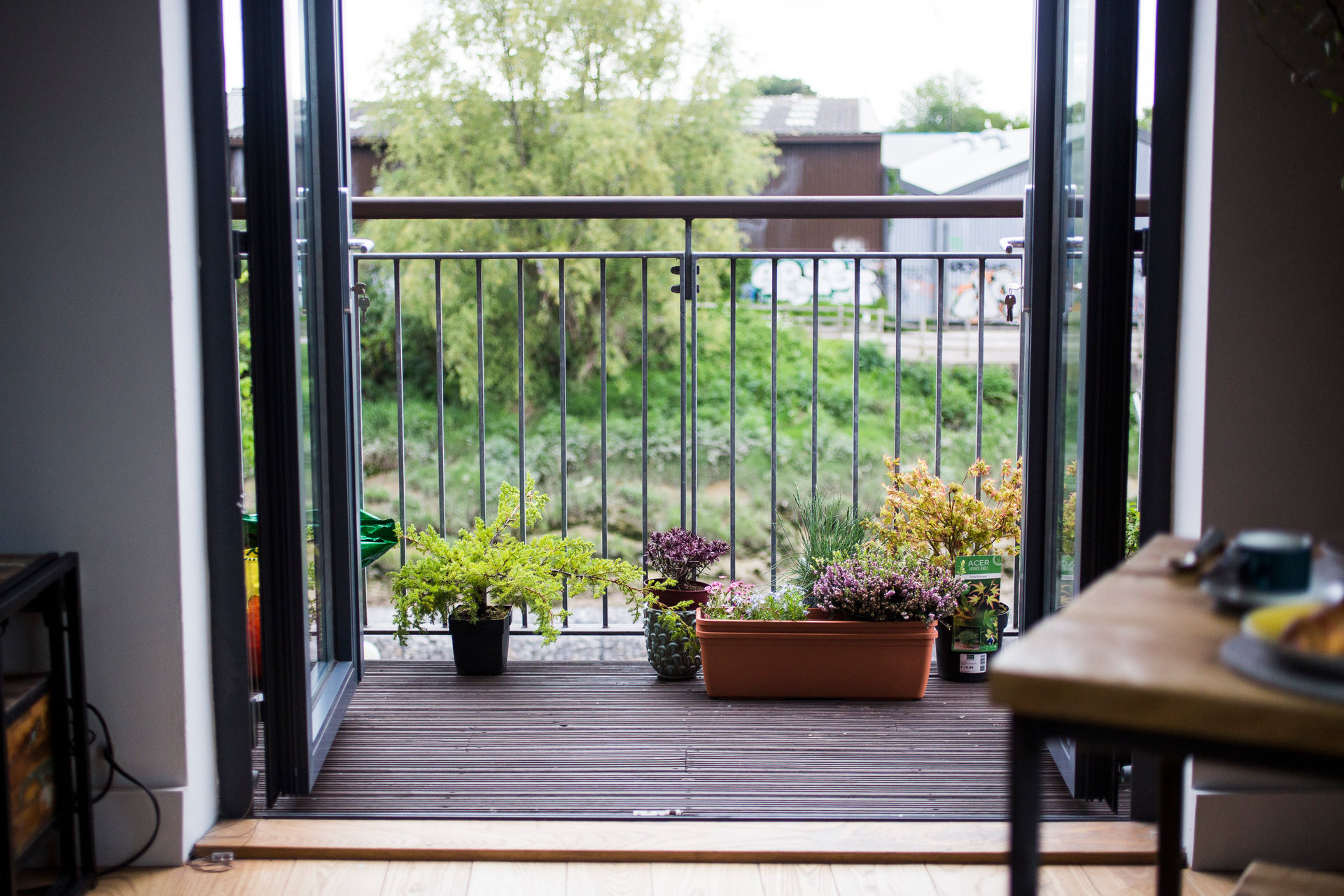 Balcony at Paintworks Apartments - Citybase Apartments
