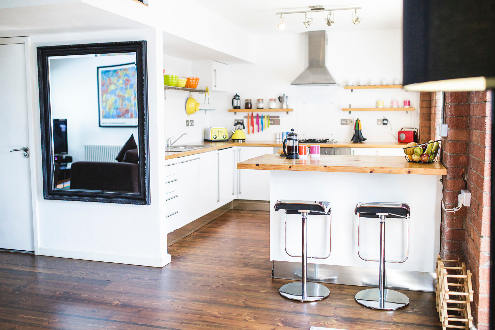 Modern kitchen at Paintworks Apartments - Citybase Apartments