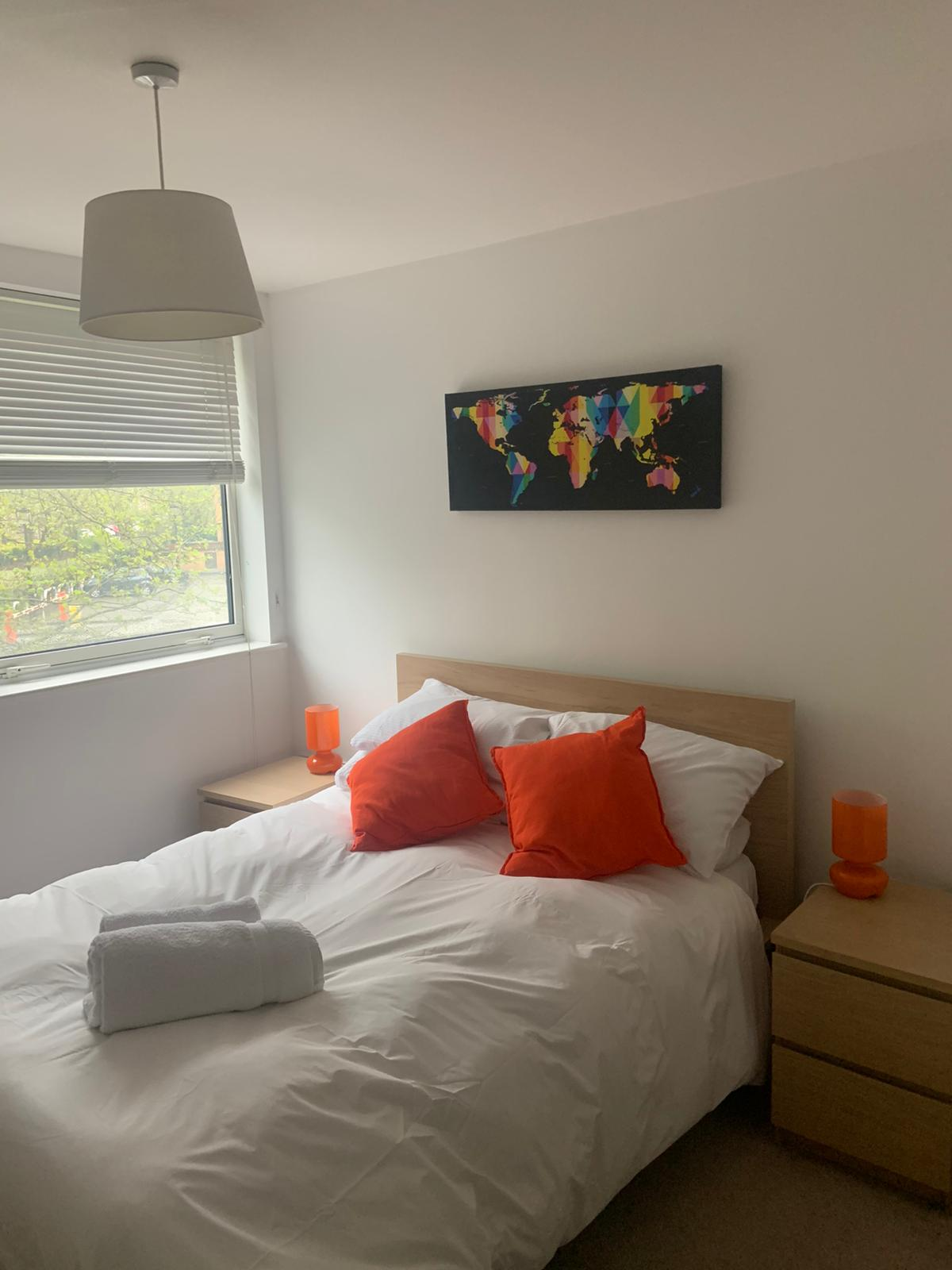 Bedding at Ocean Village Serviced Apartments, Ocean Village, Southampton - Citybase Apartments