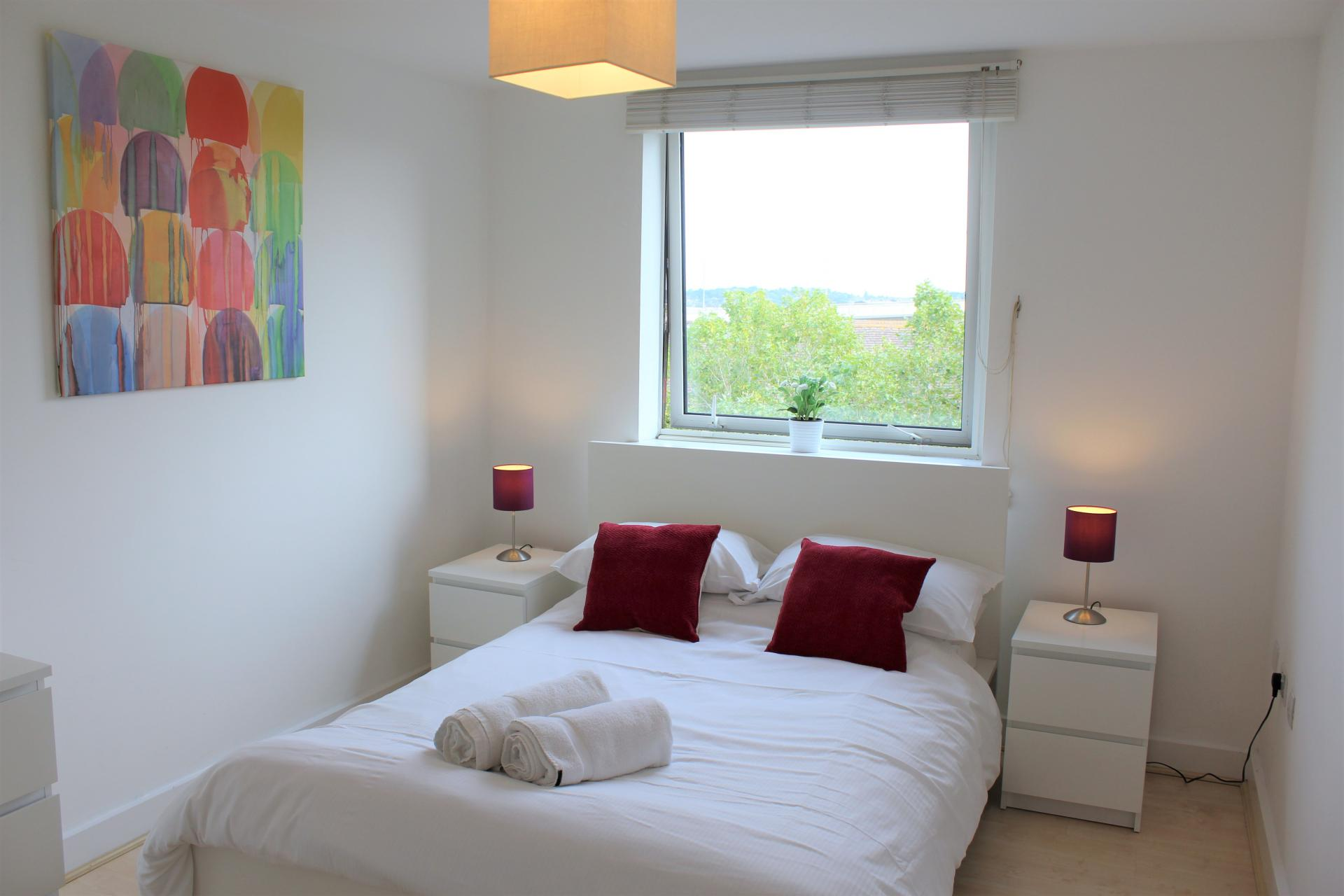 Bed at Ocean Village Serviced Apartments - Citybase Apartments