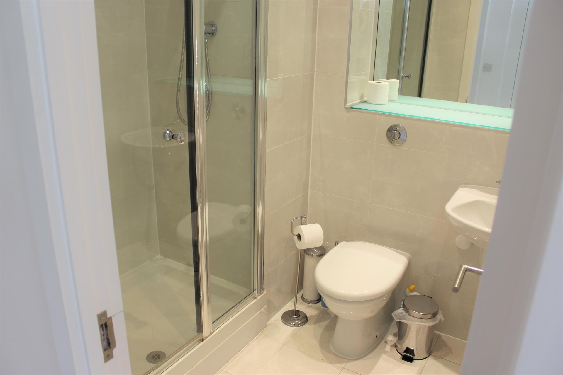 Bathroom at Ocean Village Serviced Apartments - Citybase Apartments
