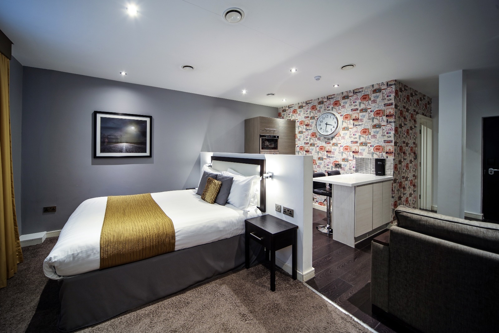 Stylish studio at Seel Street Serviced Apartments - Citybase Apartments