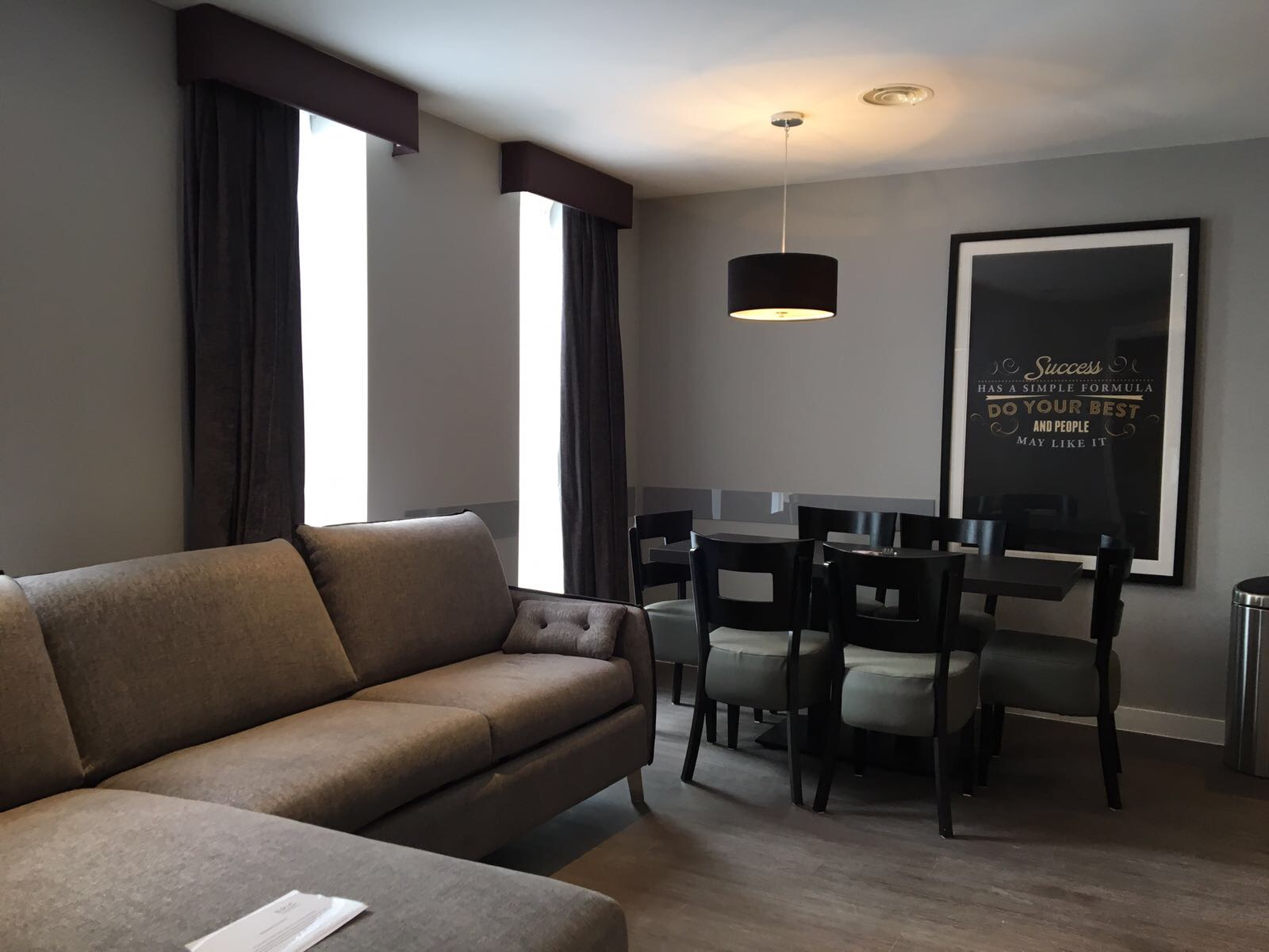 Living room at Duke Street Serviced Apartments - Citybase Apartments