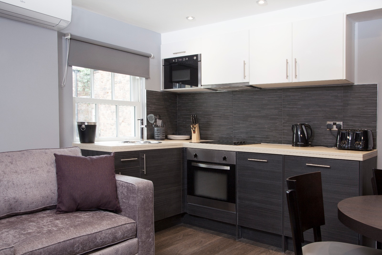 Kitchen at Duke Street Serviced Apartments - Citybase Apartments