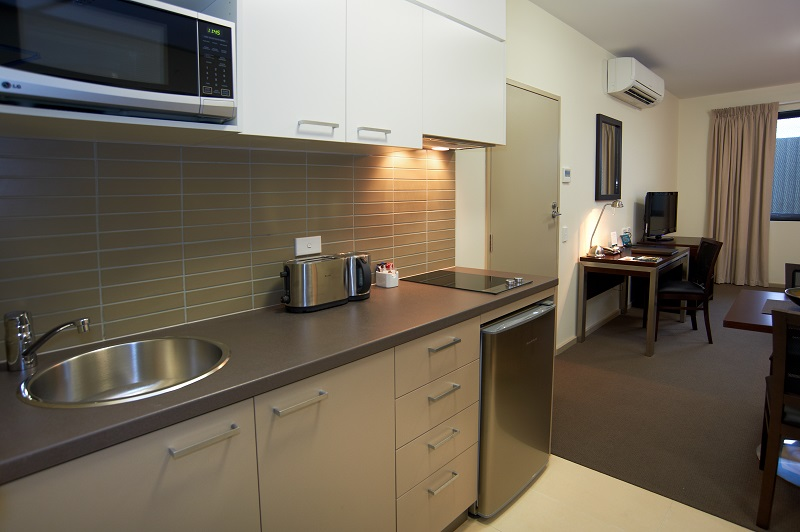 Kitchenette at Quest Moorabbin Apartments - Citybase Apartments
