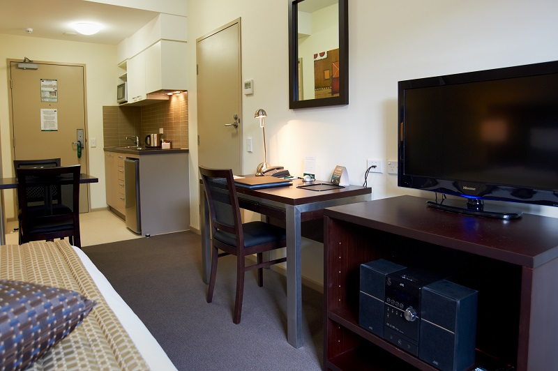 TV at Quest Moorabbin Apartments - Citybase Apartments