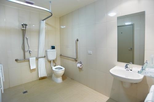 Access bathroom at Quest Moorabbin Apartments - Citybase Apartments