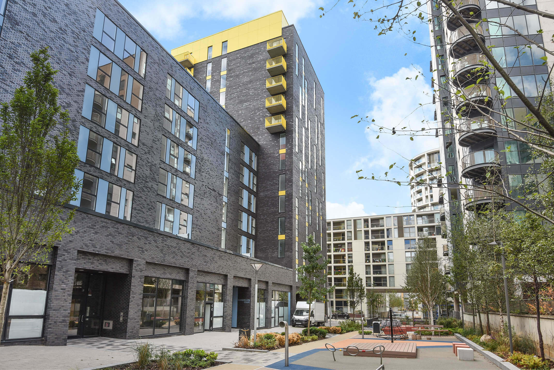 Exterior at Millharbour Residences - Citybase Apartments