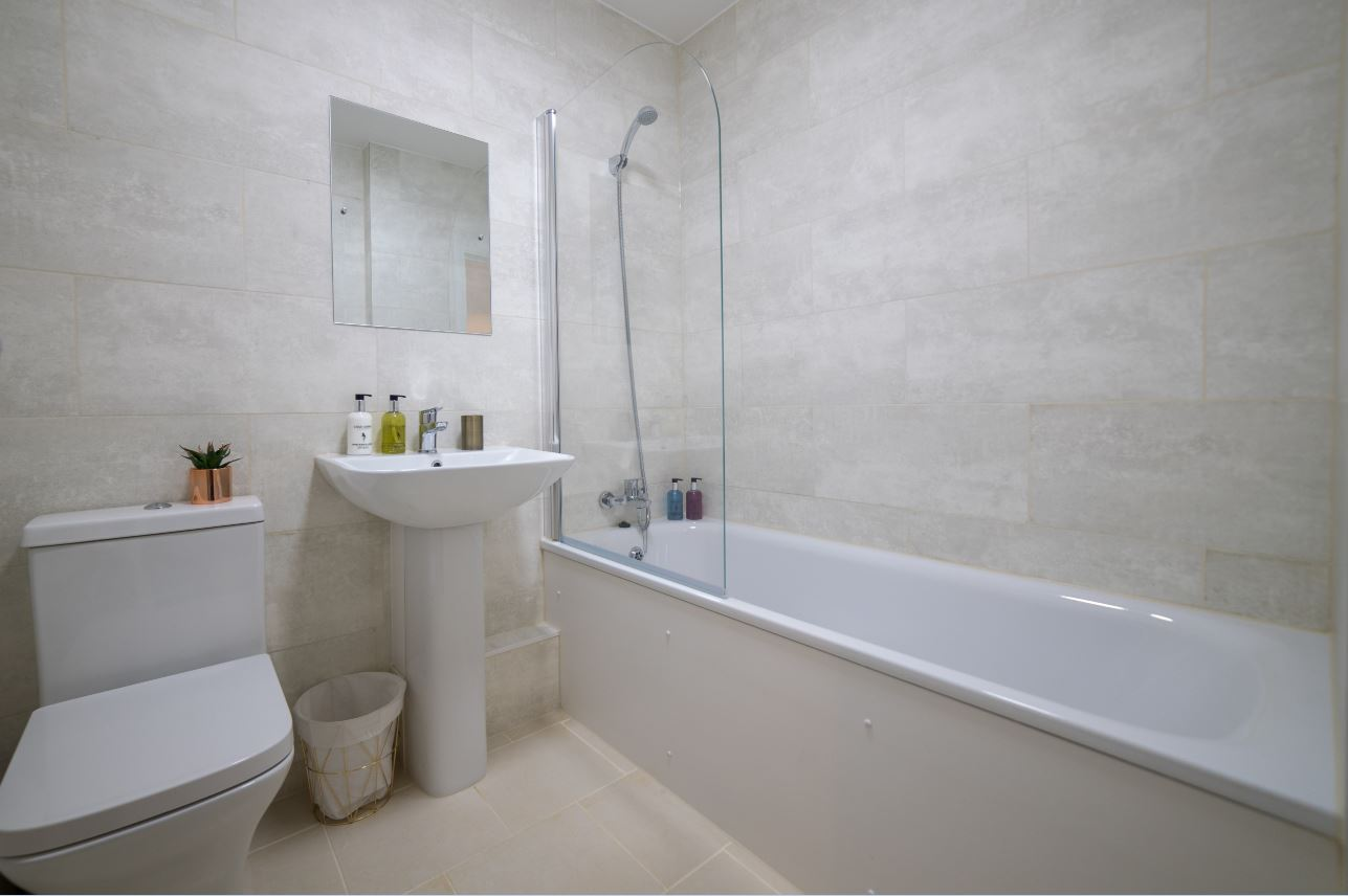 Bathroom at London Heathrow Serviced Apartments - Citybase Apartments