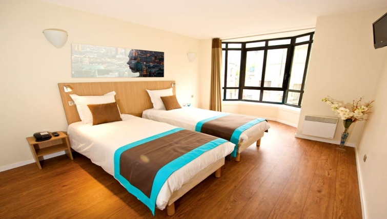 Smart bedroom in Staycity  Paris Gare de L'Est - Citybase Apartments