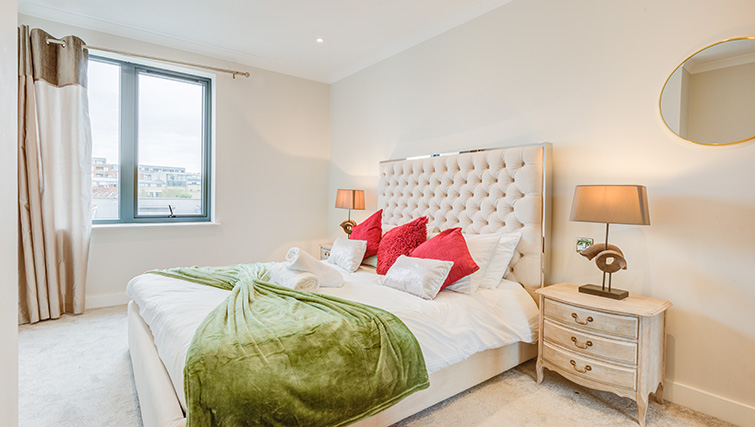 Bedroom at Concord House - Citybase Apartments