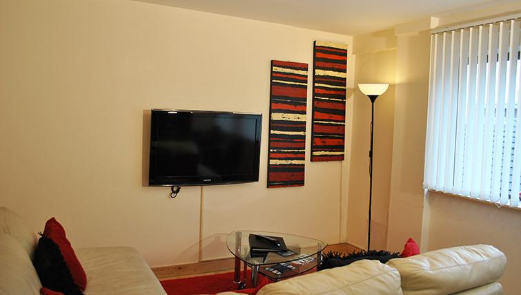Stylish living area at Deansgate Apartments - Citybase Apartments