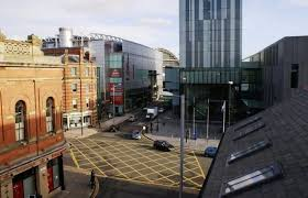 View of Manchester at Deansgate Apartments, Deansgate, Manchester - Citybase Apartments